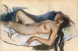 Reclining Nude and Neskuchnoye, double-sided work