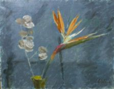 DAVID WILSON (1919-2013) Sixteen framed oil paintings in the impressionist style, to include