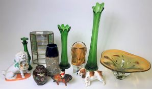 TWO MURANO GLASS PIECES