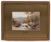 LESTER JAMES Glen Skean, 16cm x 24cm; Autumn Burnham Wood, by the same artist, 16cm x 24cm, both
