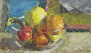 DAVID WILSON (1919-2013) A group of twenty one still life oil paintings, various sizes, the