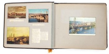 A PHOTOGRAPHIC DOCUMENTATION OF THE CONSTRUCTION OF THE NEW LONDON BRIDGE between 1968 and 1973 by