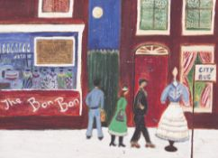 A COLLECTION OF ART WORKS by Jean Brown and other artists to include paintings and prints of various