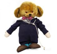 A 1960'S MERRYTHOUGHT CHEEKY SAILOR BEAR with a label to the foot, 60cm in height Condition: