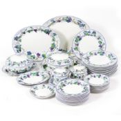 A WEDGWOOD ETHRURIA PATTERN DINNER SERVICE At present, there is no condition report prepared for