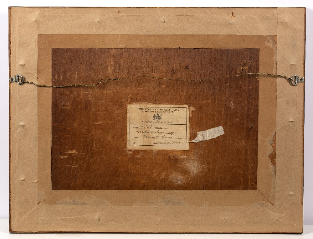 """Lot 150 - Edward Lear (1812-1888) """"Kalama"""" inscribed with title and dated 'April 6, 1857', also annotated with"""