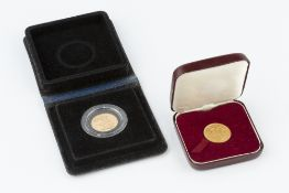 TWO ELIZABETH II SOVEREIGNS, dated 1978 and 1979, each cased (2)