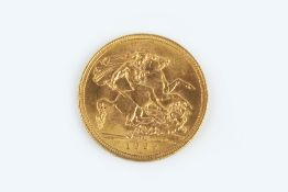 A GEORGE V SOVEREIGN, dated 1929
