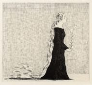 David Hockney (b.1937) The Older Rapunzel from Six Fairy Tales from the Brothers Grimm, 1969 from an