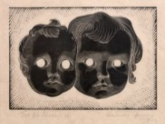 Gertrude Hermes (1901-1983) Two Children, 1929 18/30, signed, dated, titled, and numbered in