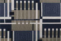 Frank Lloyd Wright (1868-1959) for F. Schumacher & Co. Taliesin 102, 1955 screen-printed textile