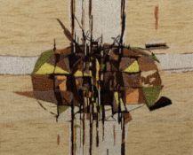 Alan Reynolds (1926-2014) for Edinburgh Weavers Crystalline, 1958 screen-printed textile 44 x 56cm.