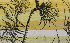 Althea McNish (b.1933) for Hull Traders Vangogh, 1959 screen-printed textile 25 x 41cm.