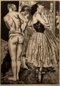 Laura Knight (1877-1970) Three Graces of the Ballet, 1926 signed in pencil (in the margin) etching