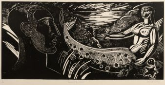 Sarah Young (b.1947) The Mermaid of Zenor signed, titled, and numbered in pencil (in the margin)