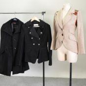 A Smythe tweed ladies hacking jacket, size 6,