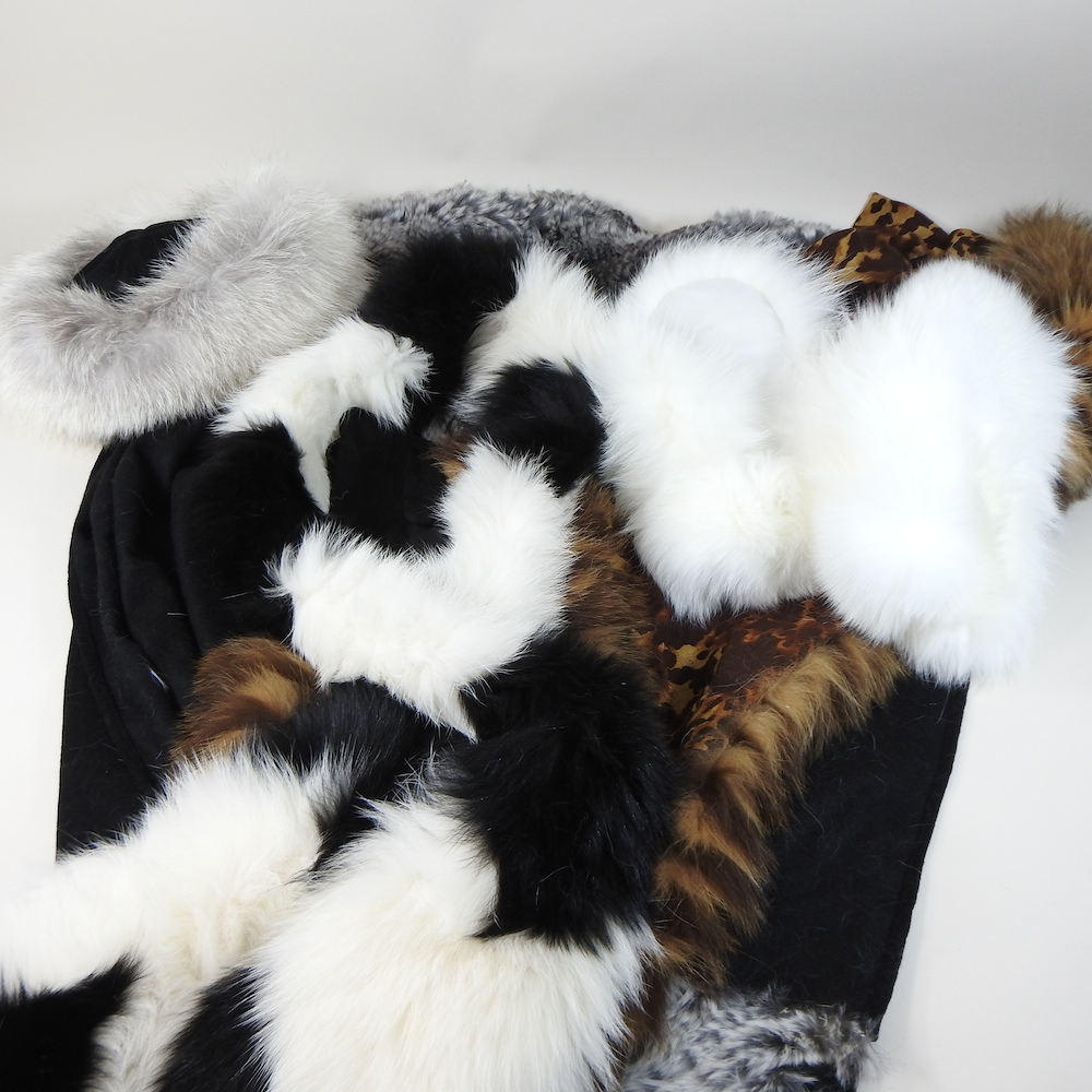Lot 47 - A collection of modern fur stoles, to include a Hockley wrap,