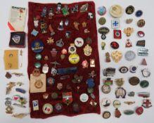 Quantity of Various Lapel Badges