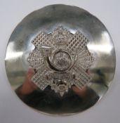 Highland Light Infantry Plaid Brooch