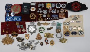Quantity of Various Civilian Badges