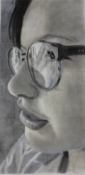 Jasmine Morgan - Ois¡n - in pencil, w 410 x h 840mm