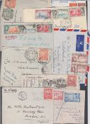 POSTAL HISTORY BARBADOS, small group of