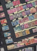 STAMPS WORLD, ex-dealers stock on 75 sto