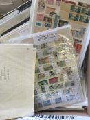 STAMPS EUROPE, ex-dealers part stock of