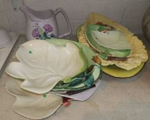 A selection of Carlton ware china including jugs etc (10 pieces)
