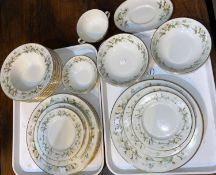A Royal Doulton Claremont dinner service, 44 pieces