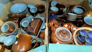 A quantity of Denby stoneware