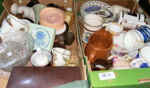 A selection of china Royal Souvenir ware; etc.