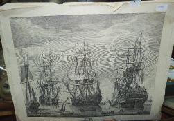 Eleven marine prints
