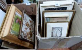 Two boxes of pictures