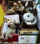 Two boxes of sundries