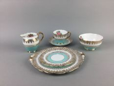 A ROSYLN PART TEA SERVICE AND A ROYAL VALE PART TEA SERVICE