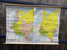 A MID-20TH CENTURY MAP BY GEORGE PHILIPS & SONS
