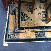 A 20TH CENTURY CHINESE STYLE RUG