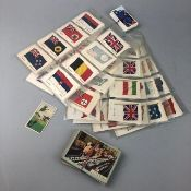 A LOT OF CIGARETTE CARDS