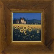 TUSCAN SUNFLOWERS, A DIGITAL PRINT AFTER DAVID SHORT