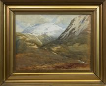 GRAMPIAN LANDSCAPE, A WATERCOLOUR BY GEORGE STRATTON FERRIER