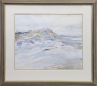 SANDS I (MORAR), A MIXED MEDIA BY KATHLEEN RUSSELL