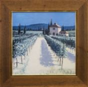 VINEYARD, A DIGITAL PRINT AFTER DAVID SHORT