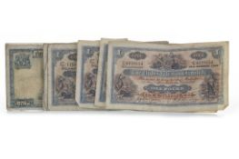A COLLECTION OF SCOTTISH BANKNOTES