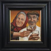 AULD LANG SYNE, AN OIL BY GRAHAM MCKEAN
