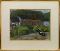 ETHIE MAINS, AN EARLY PASTEL BY GEORGE BIRRELL