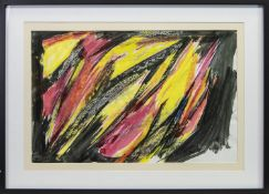 ABSTRACT STRUCTURE, A MIXED MEDIA BY WILLIAM GEAR