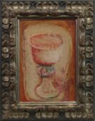 RED GOBLET, A GOUACHE BY MORRIS COLE GRAVES