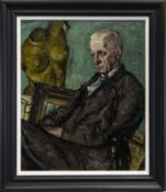 PORTRAIT OF TERRICK WILLIAMS, AN OIL BY ALFRED AARON WOLMARK