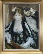 LA LOGE, AN OIL AFTER RENOIR